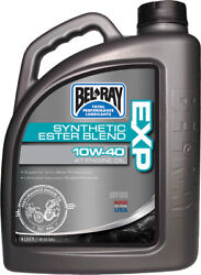 Bel-ray Exp Synthetic Ester Blend 4t E Ngine Oil 10w-40 4-liter 99120-b4lw