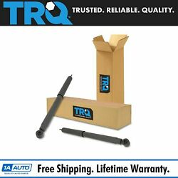 Trq Rear Shock Absorber Pair Driver And Passenger Sides For Ford Edge Lincoln Mkx