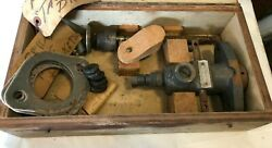 Vintage Bosch Fuel Injection Injector Pump 240 Serial 80sbs77 + Box And Parts