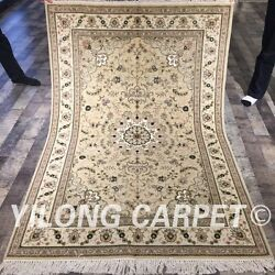 Clearance Yilong 4and039x6and039 Handmade Wool Decorative Rugs Hand-knotted Carpets 2106