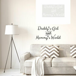 Letter Pattern Wall Sticker Self stick Art Decal for Living Room Bedroom