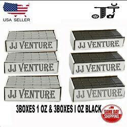 6box 1 Oz Gray And Black Wheel Weights Stick-on Adhesive Tape 54 Lbs Lead-free