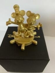 Disney Jcb Card Club Limited Metal Paper Weight Mickey Minnie Mouse 2019