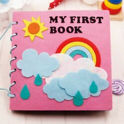 Felt Book Baby Early Education Homemade Picture Quite Book DIY Craft Children