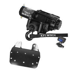 2500 Lb Kfi Stealth Winch Combo Kit M1 For 2002-2008 Yamaha Grizzly 660 4x4