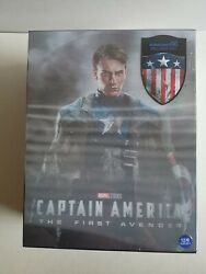 CAPTAIN AMERICA: THE FIRST AVENGER STEELBOOK 3D KIMCHIDVD ONE 1-CLICK #49/1500