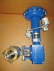 Dyna-flo Type 570 4 Ball Valve With Size 070 Actuator