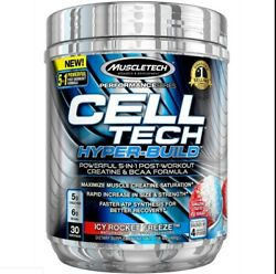 Muscletech Cell Tech Hyperbuild Post Workout Recovery Drink Powder With Creatine