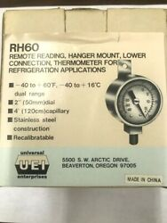 Refrigeration Remote Thermometer Applications Rh60 Uei Hanging Mounting
