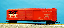 Usa Trains G Scale 50 Ft Double Plug/steel Box Car R19304c New Haven Tuscan
