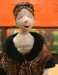 A 21x8 Collectibles Unique Handcrafted Party Doll Handmade Stuff Decorative Doll