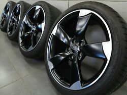 18 Inch Summer Wheels Original Audi A3 S3 8V Rotor Rims 8V0601025AN Summer Tyre