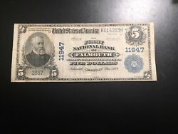 National Bank Note Falmouth Kentucky Only 4 Large Notes Known