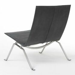 Fritz Hansen PK22 450 limit Poul Kjaerholm BOX NEW rare E. Kold waxed leather DK