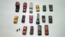 Lot Of Vintage Lead Toy Cars Parts