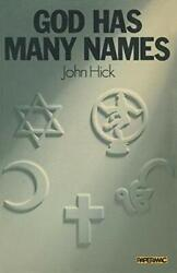 God Has Many Names Britain's New Religious Pluralism Papermacs By Hick New-,