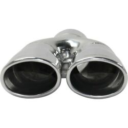Exhaust Muffler Tail Tip Pipe For F550 Truck Suburban Ford Ranger Mustang Focus