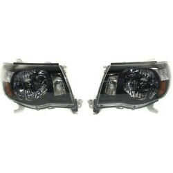 Headlight Lamp Left-and-right Lh And Rh For Toyota Tacoma 2005-2009