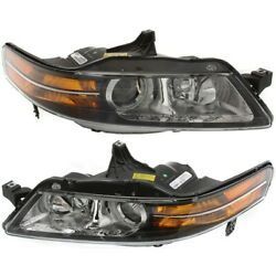 Hid Headlight Lamp Left-and-right Hid/xenon Ac2519109, Ac2518109 Lh And Rh For Tl