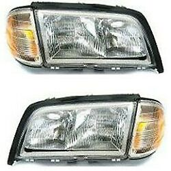 Headlight Lamp Left-and-right For Mercedes C Class Lh And Rh Mb2503106, Mb2502106