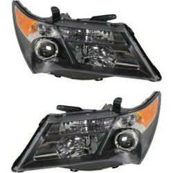 Hid Headlight Lamp Left-and-right Hid/xenon Ac2519111, Ac2518111 Lh And Rh For Mdx