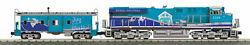 Mth Railking 30-20641-1 Christmas Es44ac Imperial Diesel Engine And Caboose Set