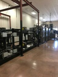 News King Web Press w ECRM Mako News CTP Plate Maker Processor Ink tank