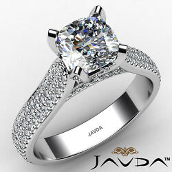 Cushion Diamond Engagement Ring Gia Certified F Color And Vs1 Clarity 2.06 Ctw
