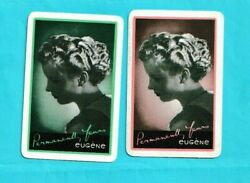 Hair Product Playing Cards Pair Of Singles - Eugene