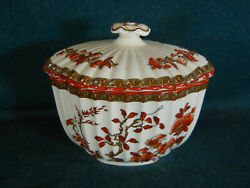 Copeland Spode India Tree Large Covered Sugar Bowl With Lid