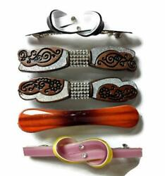 Straight Hair Clips Hair Accessories Coil Springs Storage Women Set of 5