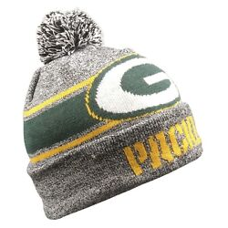 Green Bay Packers 2019 Forever Collectibles Nfl Gray Light Up Beanie Free Ship