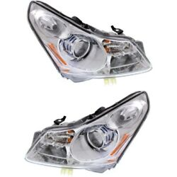 In2503146, In2502146 Hid Headlight Lamp Left-and-right Hid/xenon Sedan Lh And Rh