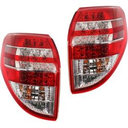 To2800181, To2801181 Tail Lights Lamps Set Of 2 Left-and-right Lh And Rh Pair