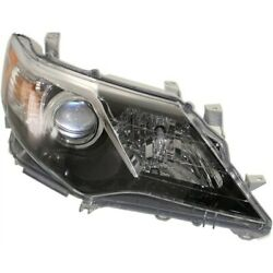 Headlight Lamp Right Hand Side Passenger Rh For Camry 12-14 To2503212 8111006800