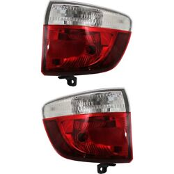 Tail Lights Lamps Set Of 2 Left-and-right Outside Ch2804103 Ch2805103 Pair