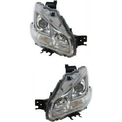 Hid Headlight Lamp Left-and-right Hid/xenon Lh And Rh Ni2503205 Ni2502205