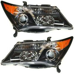 Hid Headlight Lamp Left-and-right Hid/xenon Ac2519110, Ac2518110 Lh And Rh For Mdx