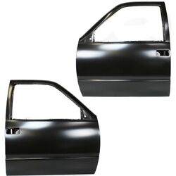 Set Of 2 Door Shells Front Left-and-right For Suburban 12387770 12387769 Pair