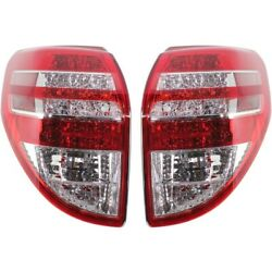 Pair Set Of 2 Tail Lights Lamps Left-and-right To2818142, To2819142 Lh And Rh