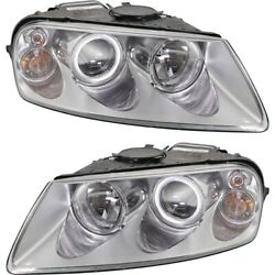 Headlight Lamp Left-and-right For Vw Lh And Rh Touareg 04-07 Vw2503132 Vw2502132