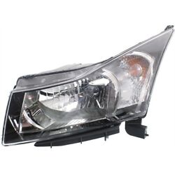 Headlight Lamp Left Hand Side For Chevy Driver Lh Gm2502361 95291963 Cruze 11-15