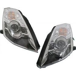 Hid Headlight Lamp Left-and-right Hid/xenon Lh And Rh Ni2503159 Ni2502159