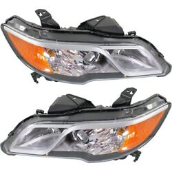 Hid Headlight Lamp Left-and-right Hid/xenon Lh And Rh For Rdx Ac2503124 Ac2502124