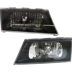 Headlight Lamp Left-and-right Lh And Rh For Mercury Marauder Fo2503197 Fo2502197