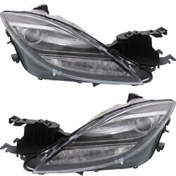 Hid Headlight Lamp Left-and-right Hid/xenon Ma2519119, Ma2518119 Lh And Rh