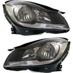 Headlight Lamp Left-and-right For Mercedes C Class Coupe Mb2503186 Mb2502186
