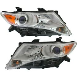 To2503192, To2502192 Hid Headlight Lamp Left-and-right Hid/xenon Lh And Rh