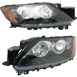 Eh46510k0d, Eh46510l0d Ma2519162, Ma2518162 Headlight Lamp Left-and-right