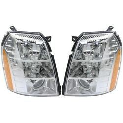 Gm2503291 Gm2502291 Hid Headlight Lamp Left-and-right Hid/xenon Lh And Rh